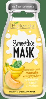 Bielenda SMOOTHIE MASK Prebiotyczna maseczka energetyzujaca PREBIOTYK BANAN MELON