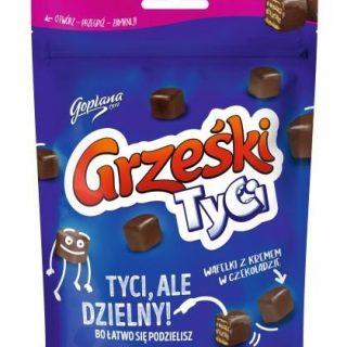 Goplana grzeski tyci w czekoladzie 120 g Milch Waffeln