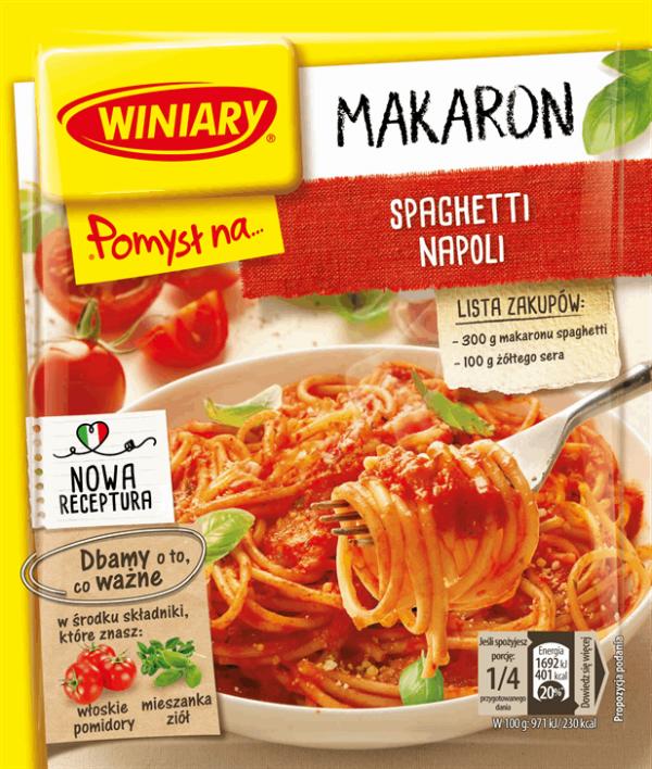 WINIARY POMYSL NA… spaghetti Napoli