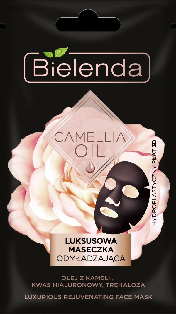 bielenda CAMELLIA OIL Luksusowa maseczka odmladzajaca w placie