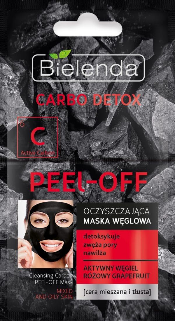 bielenda CARBO DETOX Oczyszczajaca maska weglowa PEEL–OFF