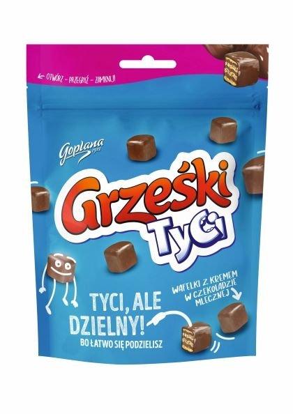 grzeski tyci w mlecznej czekoladzie Waffel in Schokolade