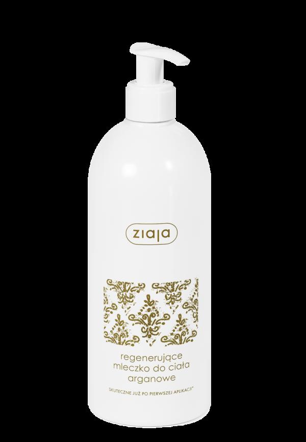 ziaja regenerujace mleczko do ciala arganowe 400 ml
