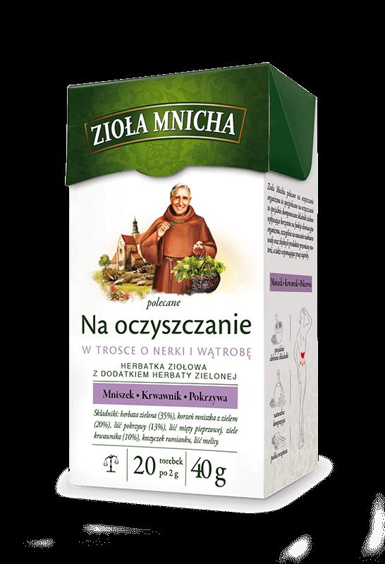 ziola mnicha na oczyszczanie